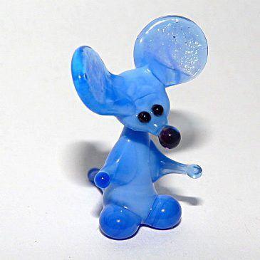 Figurki szklane mikro