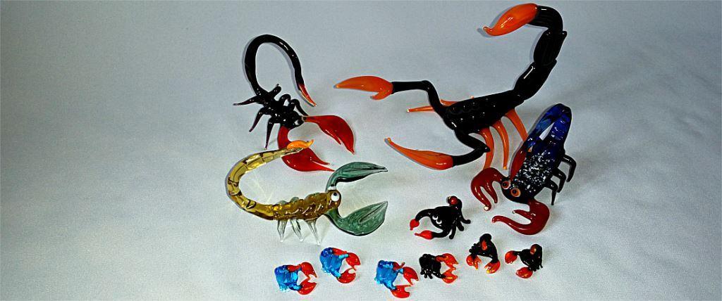 Figurki skorpiony